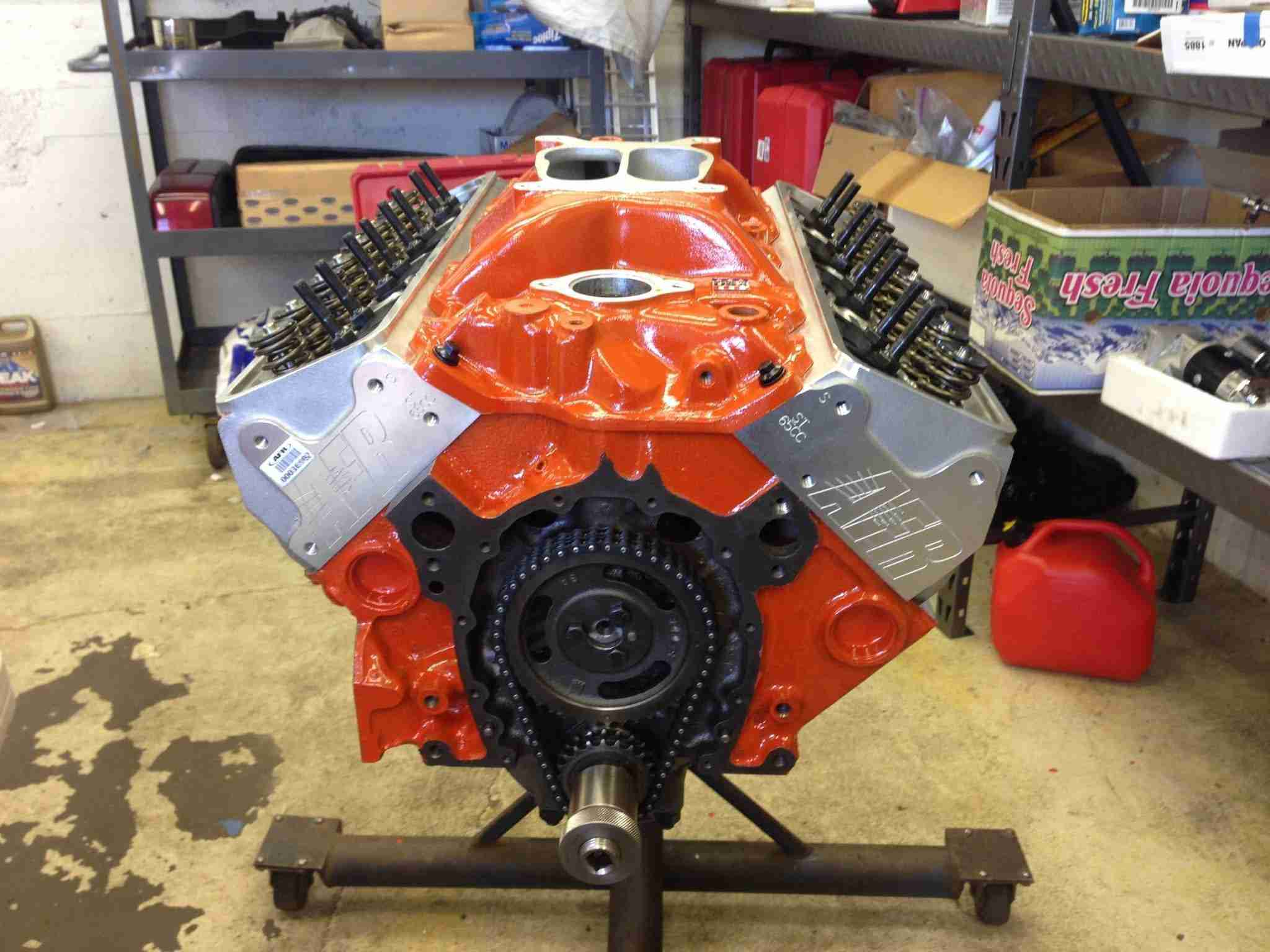 What did i do i built an engine for my corvette need for I need a motor for my car